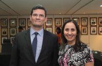 Ministro Sérgio Moro com Deputada Adriana Ventura
