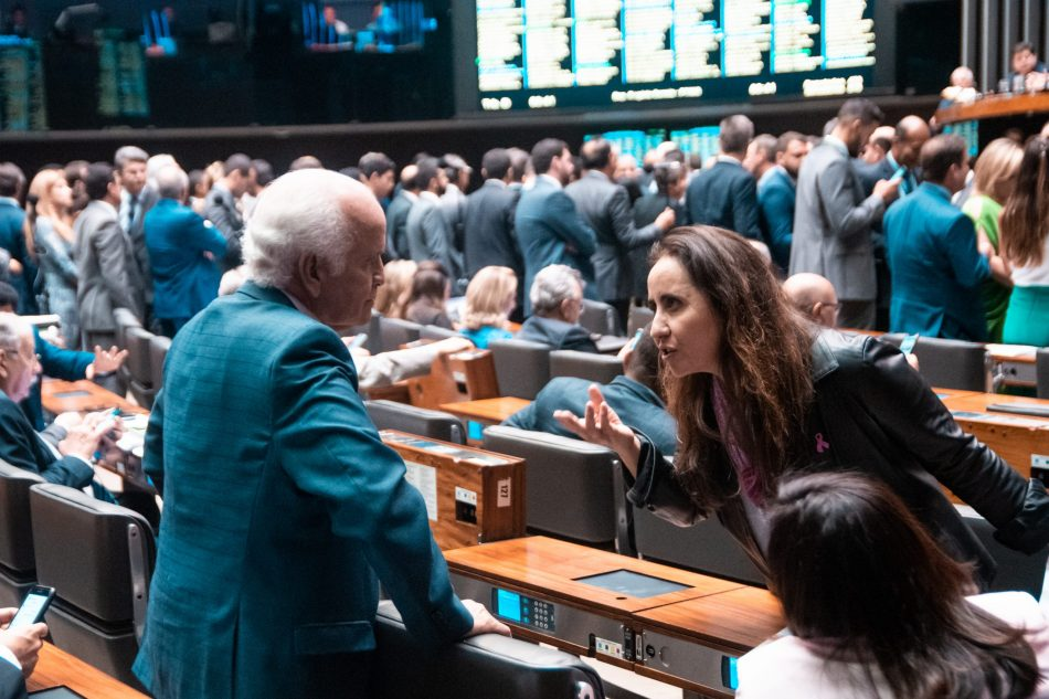 Deputada no Plenário