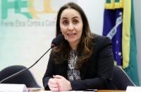 Adriana Ventura, presidente da Frente Ética contra Corrupção