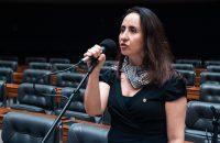 Adriana no plenário