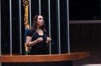 Deputada Adriana Ventura na tribuna
