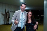 Deputados Gilson Marques e Adriana Ventura